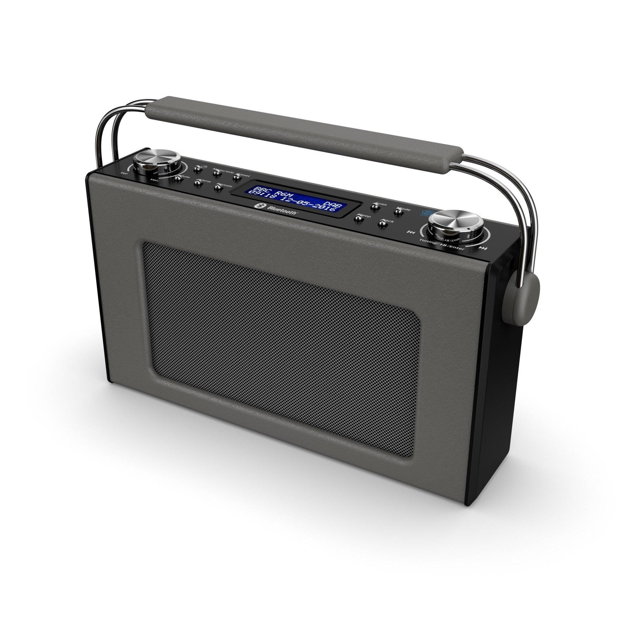 Majority Cottenham II Portable Bluetooth DAB Radio