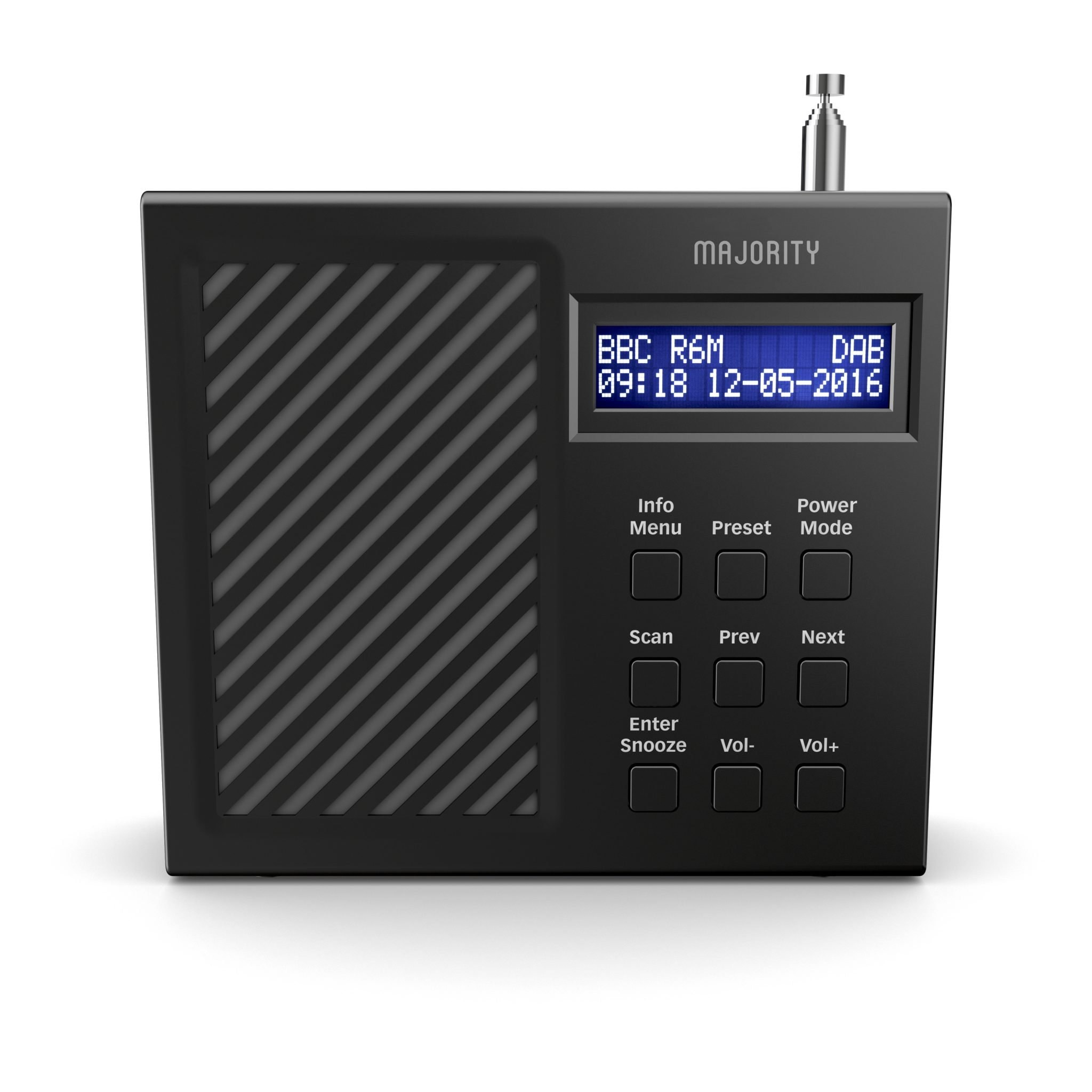 Majority Arbury II Portable DAB Radio