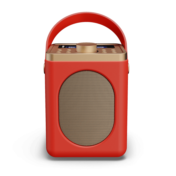 DAB Radio with Bluetooth - Little Shelford Red