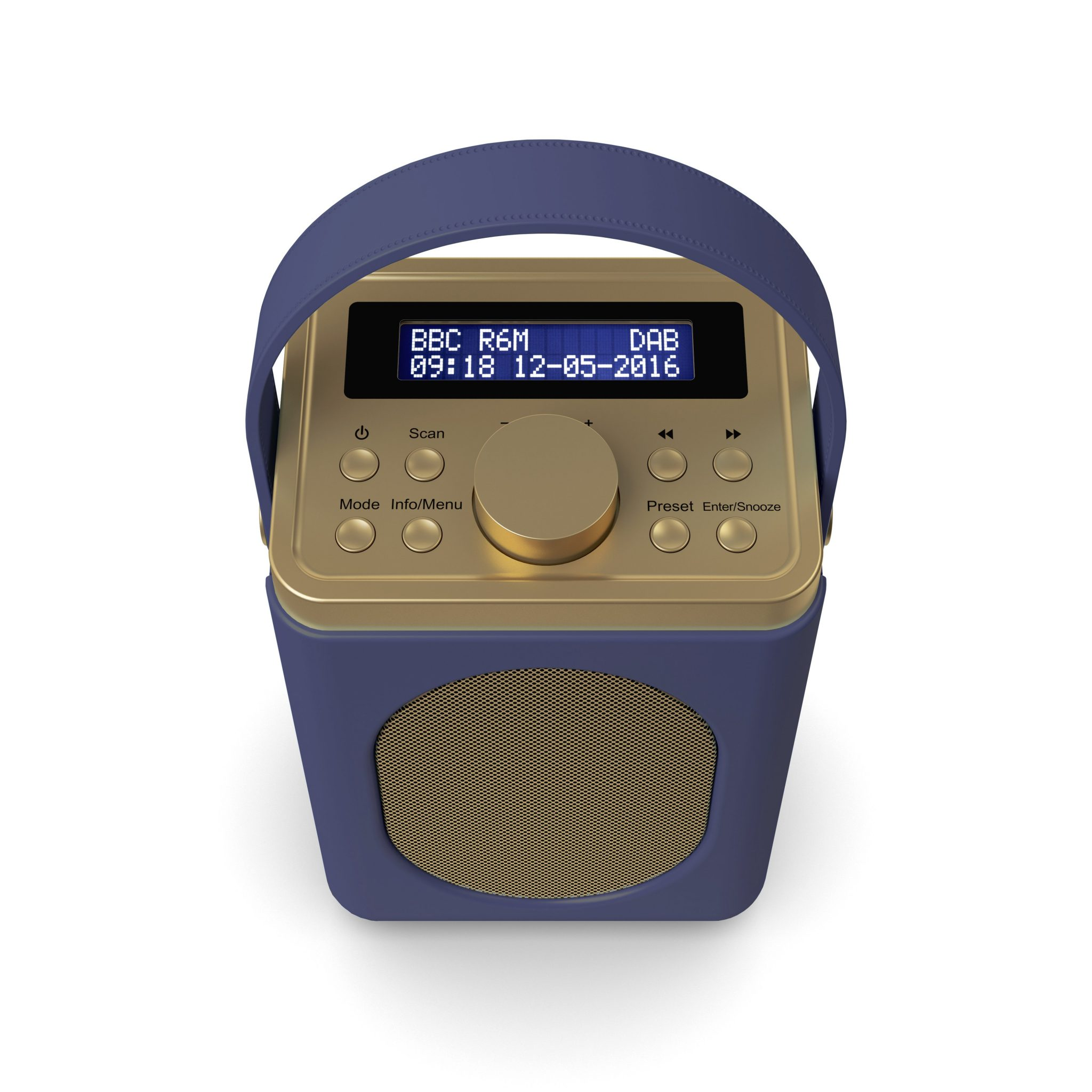 DAB Radio with Bluetooth - Little Shelford Midnight Blue Top